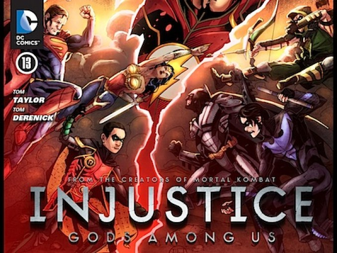 Injustice: Gods Among U