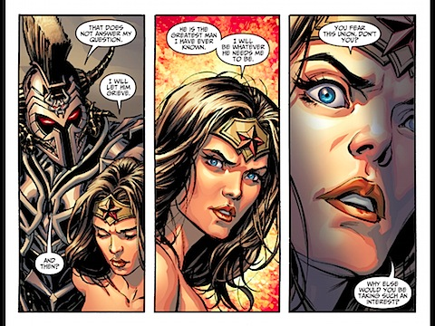 Wondy will be whatever Superman wants her to be