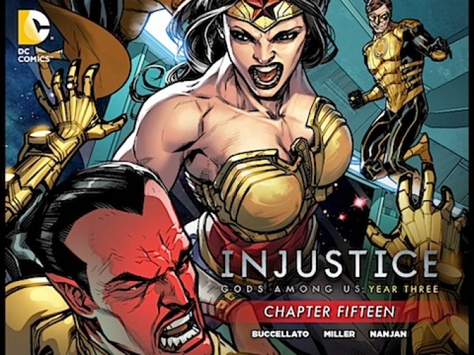Injustice: Gods Among Us. Year Three