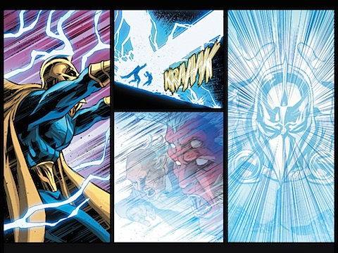 Dr Fate works his magic