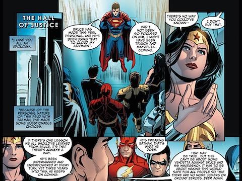 Superman rethinks