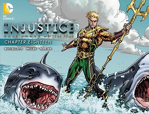 Injustice Gods Among Us Year Four #18