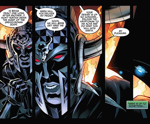 Ares and Darkseid