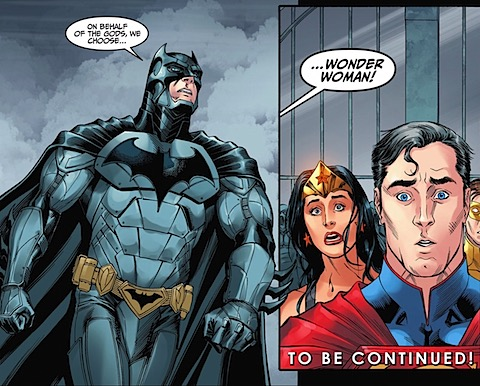 Wonder Woman isn't