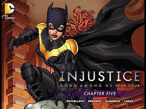 Injustice Gods Among Us Year #4