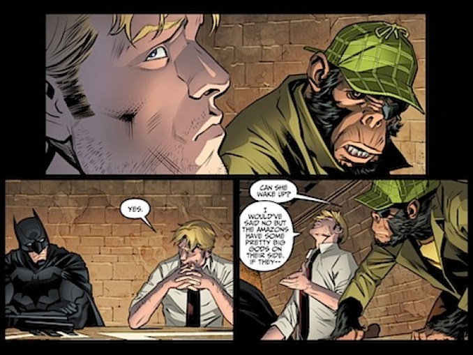 John Constantine fesses up