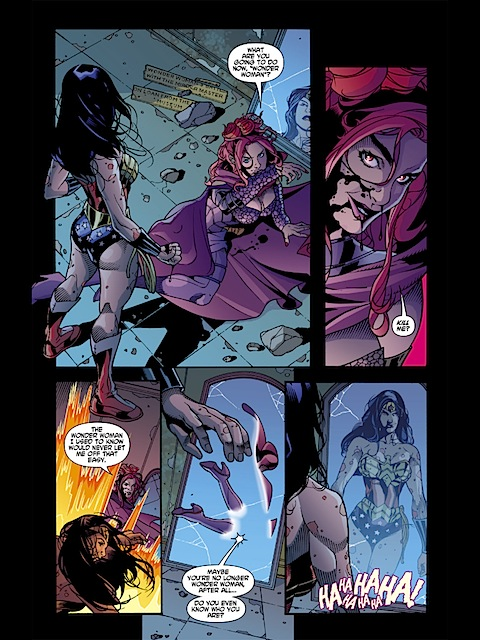 Circe in Wonder Woman volume 3