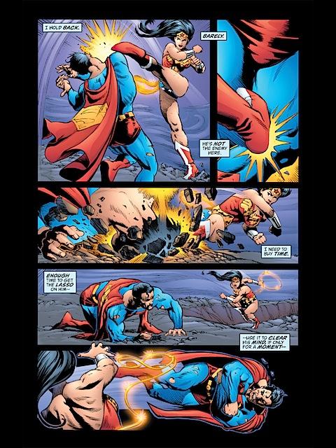 WW beats up Superman