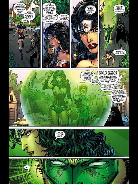 Wonder Woman kicks ass in JL #11