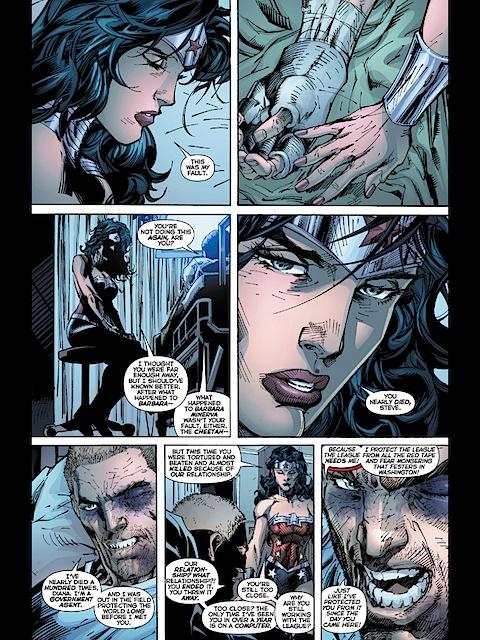 Wonder Woman dumps Steve again