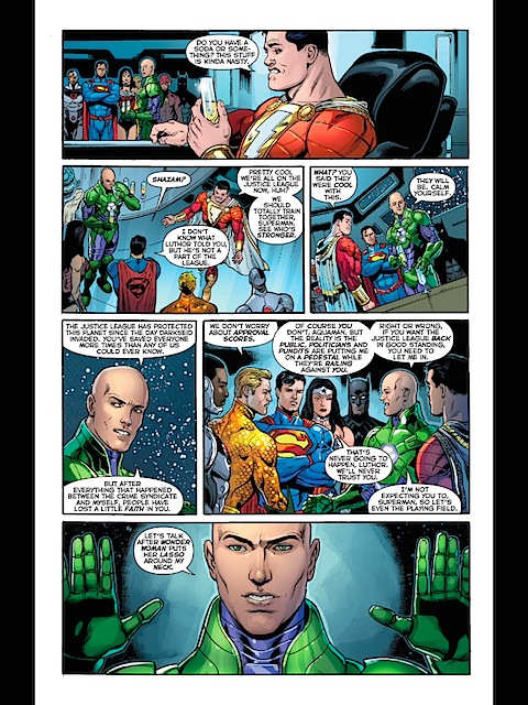 Join Luthor's League
