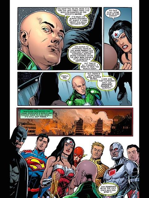 Luthor reveals more