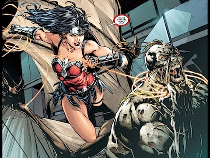 Wonder Woman traps Patient Zero