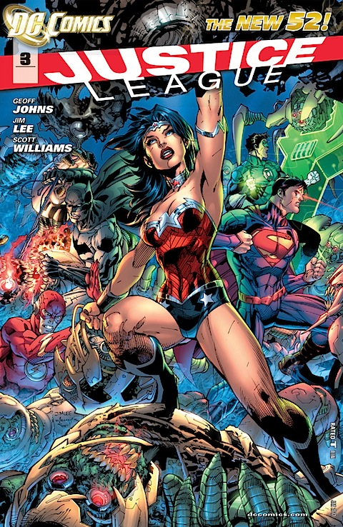 The cover of Justice League #3