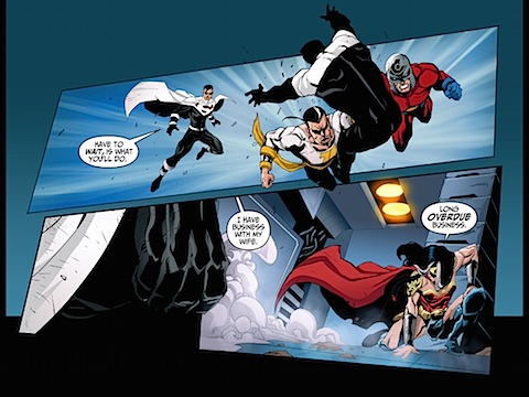 The Justice Lords arrive