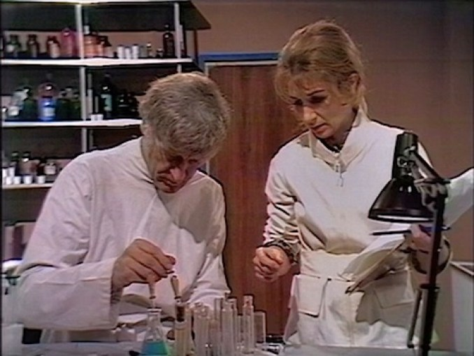 Liz Shaw in Doctor Who and the Silurians