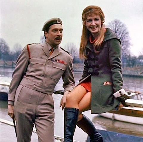 The Brigadier and Liz Shaw