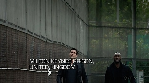 Agents of SHIELD - Milton Keynes prison