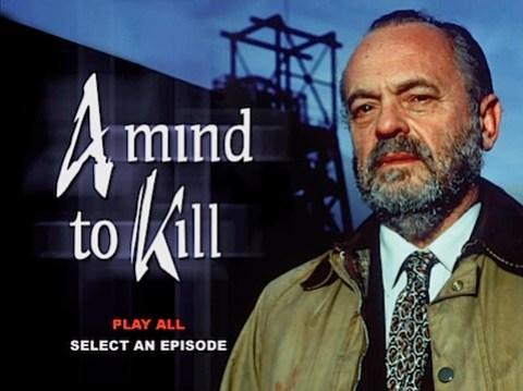 A Mind to Kill DVD Menu