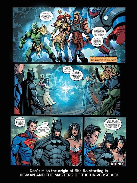 Wonder Woman offers Batman help