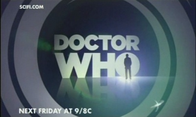 The Sci-Fi Channel's New Doctor Who logo