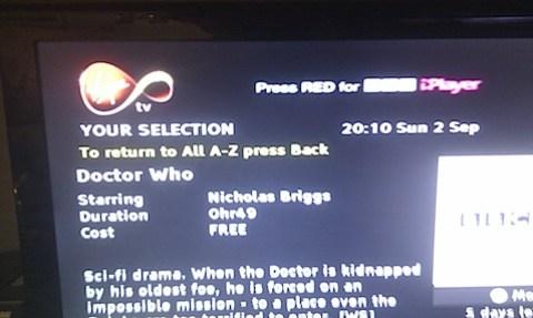 Nicholas Briggs, star of TV's Doctor Who