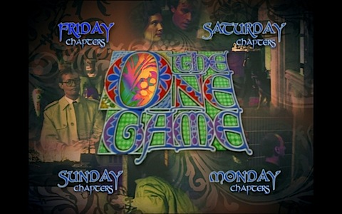 The One Game DVD menus