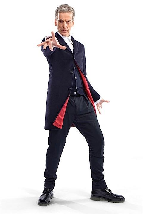 Peter Capaldi in costume