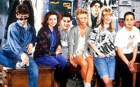 Press Gang - season two cast