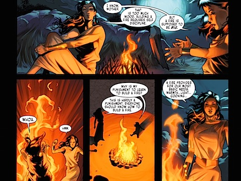 Hippolyta explains the importance of the fire