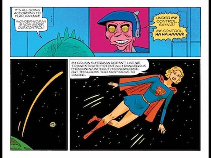 Wonder Woman is hypnotised