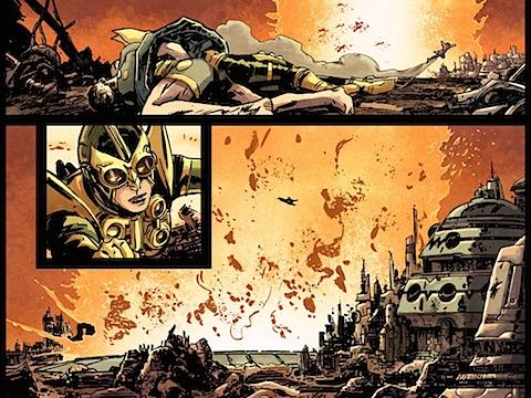 Wonder Woman in disguise on Apokolips