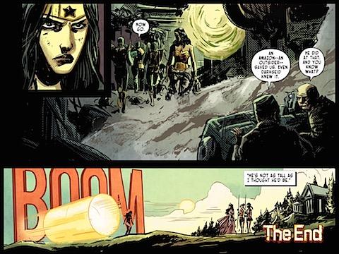 Wonder Woman returns to Paradise Island