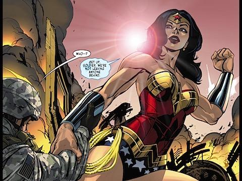 Wonder Woman 'appears'