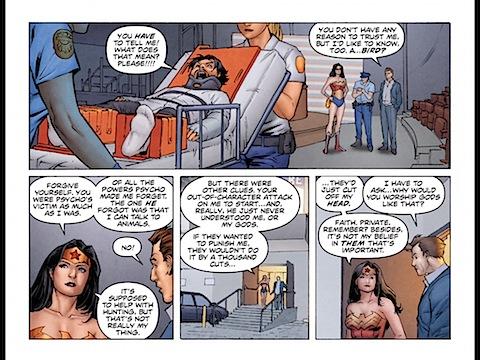 Wonder Woman explains her gods