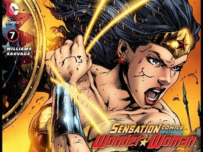 Sensation Comics Featuring Wonder Woman #7