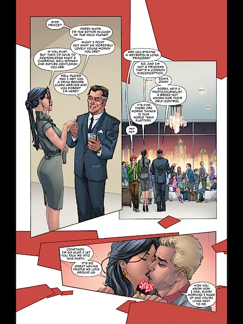 Diana Prince with Perry White
