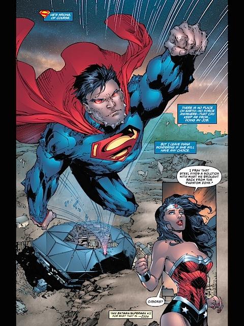 Superman escapes