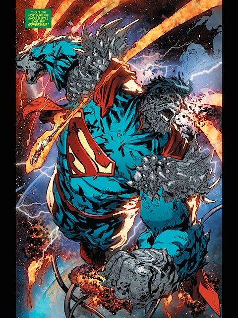 Superman goes superdoomsday
