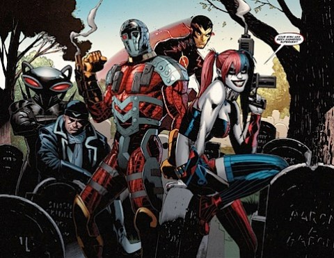Harley Quinn and the gang