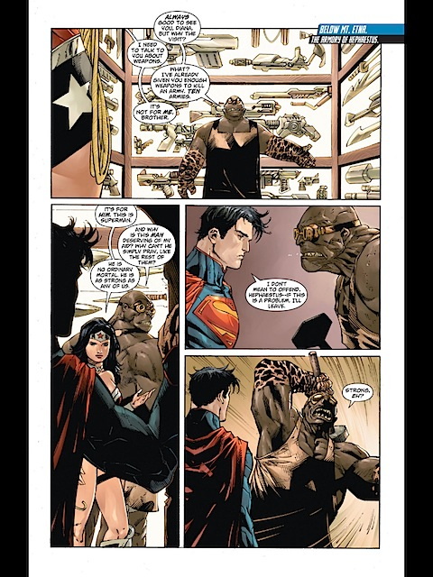 Superman meets Hephaestus