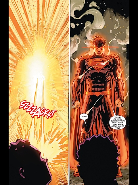 Superman twats Apollo