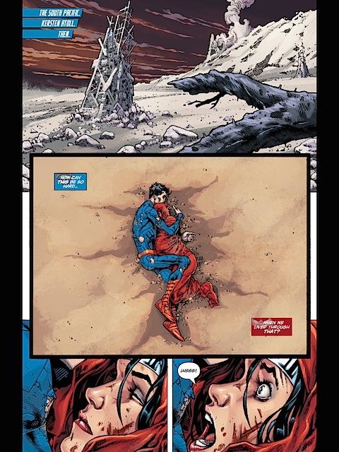 Wonder Woman wakes up