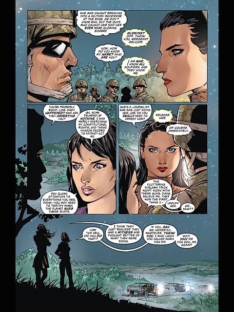 Wonder Woman has a way with soldiers