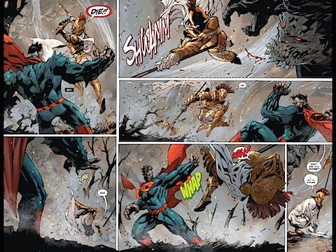 Hessia tries to kill Superman