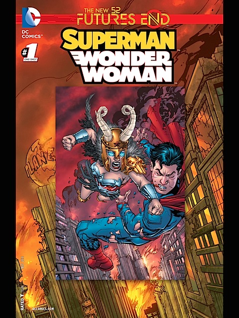 Superman/Wonder Woman Futures End #1