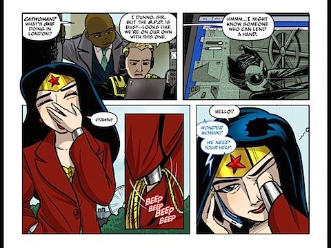 Wonder Woman needs her coffee