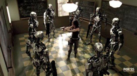 Sarah Connor v the Terminators