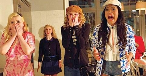 The cast of Fox's Scream Queens