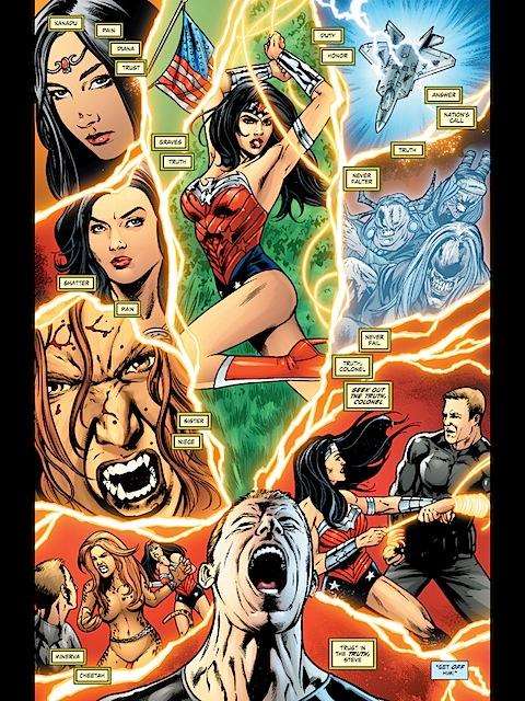 Steve Trevor's mind is full of Wonder Woman